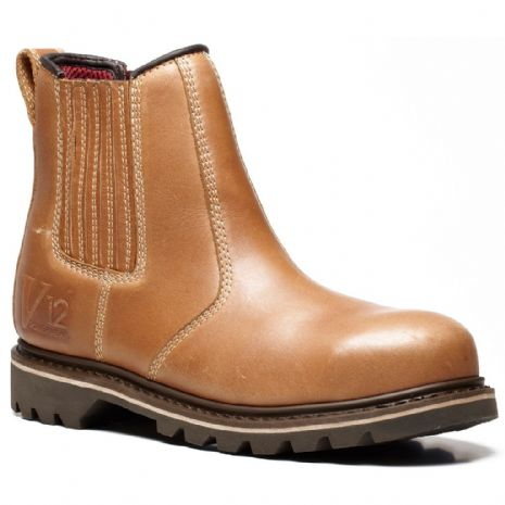 V1241 STAMPEDE VINTAGE LEATHER DEALER BOOT